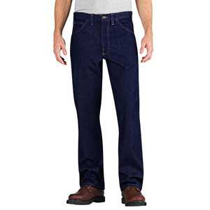 Dickies RD901RNB 48x32 Flame-Resistant Relaxed Fit Straight Leg 5-Pocket Jean