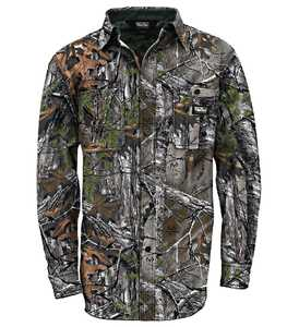 Walls 56076-MI9S Small Break Up Infinity Cape Back Long Sleeve Hunting Shirt