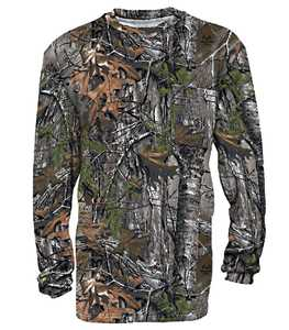 Walls 56091-MI9XXL 2x-Large Break Up Infinity Hunting Long Sleeve Pocket T-Shirt
