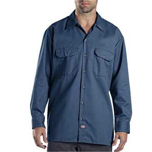 Dickies 574NV Long Sleeve Work Shirt L