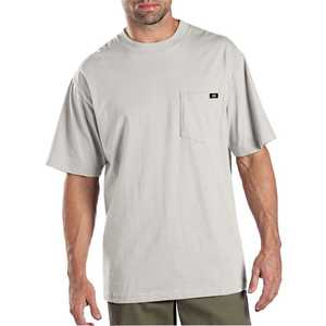 Dickies 1144624AG Medium Ash Gray Pocket T-Shirt 2-Pack