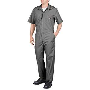 Dickies 33999GY Short Sleeve Coverall Sr