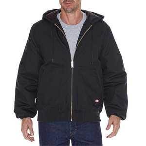 Dickies TJ718BK Rigid Duck Hooded Jacket Xlr