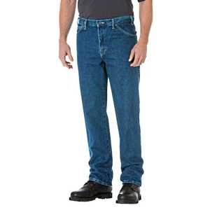 Dickies 17-293SNB 36x30 Regular Straight Fit 5-Pocket Denim Jean