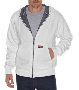 Dickies TW382AG Thermal Lined Fleece Hoodie Lt