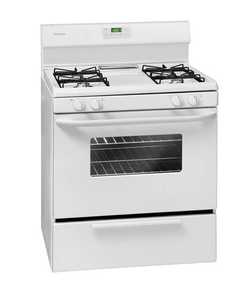 Frigidaire FFGF3011LW Range Gas Manual Clean White
