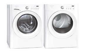 Frigidaire FAFW4011LW/FAQE7011LW SET Affinity Front Loading Washer/Dryer Combo