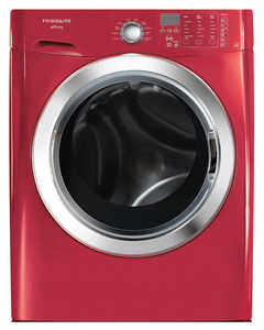 Frigidaire FAFS4174NR Affinity 3.9 Cu. Ft. Front Load Washer Featuring Ready Steam Classic Red