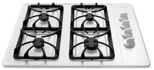 Frigidaire FFGC3015LW 30 in Gas Cook Top White On White