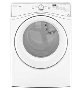Whirlpool WED72HEDW 7.3 Cu. Ft. Wrinkle Shield™ Electric Dryer