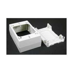 Wiremold Company NM35 Nonmetallic Raceway Extra Deep Outlet Box