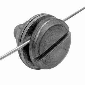 Zareba 07110.96 Galvanized Line Clamp 3 Piece