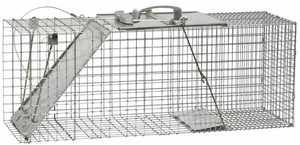 Havahart 1085 Trap Cage Raccoon Easy Set
