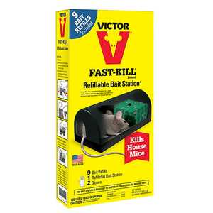 Victor M917 Fast-Kill Refillable Bait Station