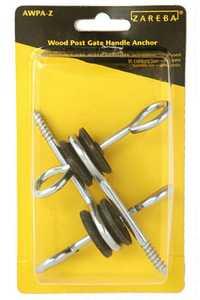 Zareba AWPA-Z Wood Post Screw-In Gate Anchor