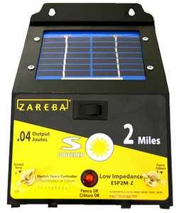 Zareba ESP2M-Z 2 Mile Solar Charger