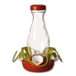 Perky Pet 161-3 Funnel Fill Glass Hummingbird Feeder