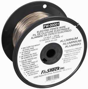 Zareba FW-00001T Wire Alum Spool 1/4mile 17ga