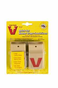 Victor M130 Mouse Trap Quick Set No See 2p