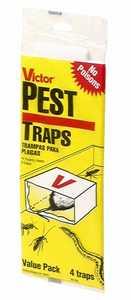 Victor M184 Mouse Glue Trap 4pk
