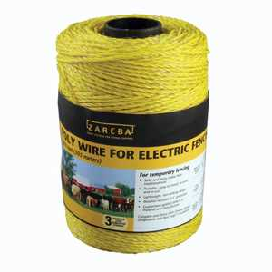 Zareba RSW1000 Electric Fence Wire 1000 ft Spool