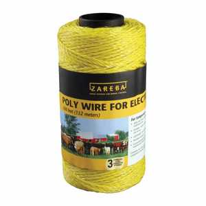 Zareba RSW500 Electric Fence Wire 500 ft Spool