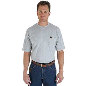 Wrangler 3W700AH 3x-Large Tall Riggs Workwear Short Sleeve Pocket T-Shirt