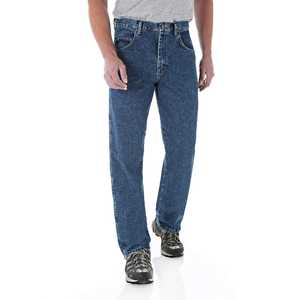 Wrangler 35001AI 46x30 Rugged Wear Relaxed Fit Jean