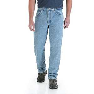 Wrangler 35001VI 32x30 Rugged Wear Relaxed Fit Jean
