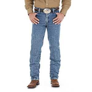 Wrangler 47MWZDS 42-Inch X 30-Inch Dark Stone Cowboy Cut Regular Fit Premium Performance Men's Jean