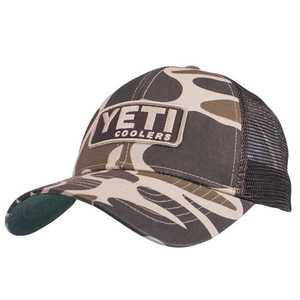 Yeti YHCAMO Yeti Traditional Trucker Hat In Camo