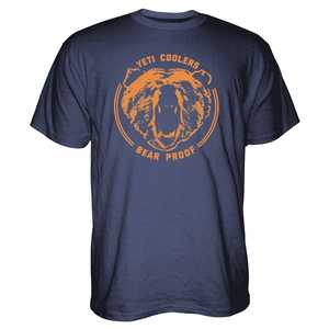 Yeti YTS BEARPRF Large Navy Bear Proof T-Shirt