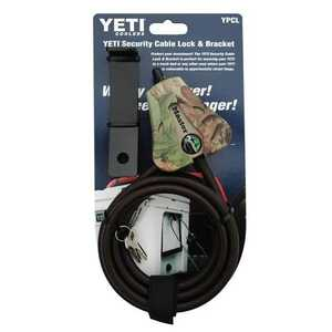 Yeti YPCL Yeti Security Cable Lock Adjustable 6 Ft