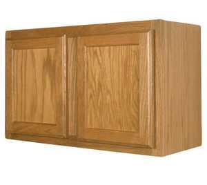 Zee Mfg W3615 33 in X15 in Keystone Wheat Wall Cabinet
