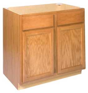 Zee Mfg SB36 36 in Keystone Wheat Sink Base Cabinet