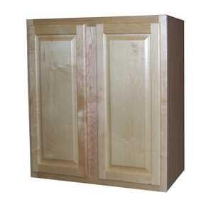 Zee Mfg W3030MGNBX Maple Grove Wall Cabinet Natural 30x30