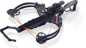 Bear Archery A6BRZBK125 Bruzer Ffl Crossbow 125 Lbs Black