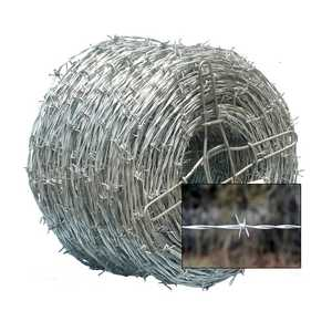 Oklahoma Steel & Wire 0107-0 Commercial Barb Wire - 4 Point 6 in 72Lb