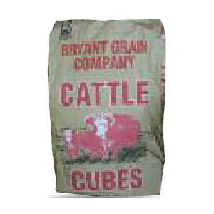 Bryant Grain Co FEED 20% Breeder Cube 50 Lb