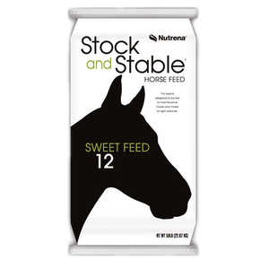 Nutrena 7512 Stock And Stable Sweet Feed 12%