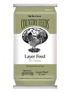 Nutrena 95180 Country Feeds Layer 16% Pellets 50 Lbs.