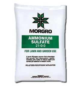 Morgro 171145 20-Pound Ammonium Sulfate For Lawn And Garden