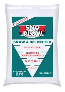Morgro 513006 50-Lb Sno-Plow Snow And Ice Melter