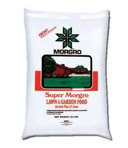 Morgro 172010 Super Morgro Lawn & Garden Fertilizer 16-16-8 3% 20Lb