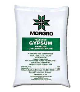 Morgro 171165 Gypsum Soil Conditioner Pallet 50Lb
