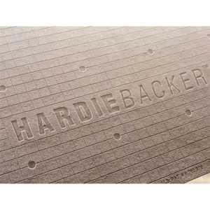 James Hardie 3X5 1/2 Hardi Backer 500 Cement Board