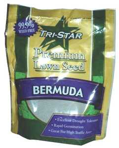 Tri Star Seed 5LB Grass Bermuda Unhulled Grass Seed 5lb
