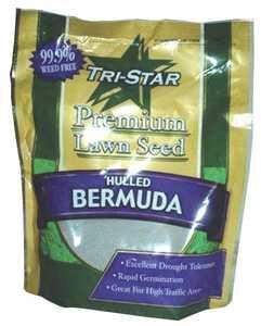 Tri Star Seed 1LB Grass Bermuda Hulled Grass Seed 1lb