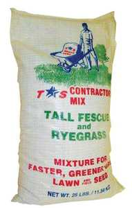 Tri Star Seed 25LB Contractor Mix Fescue/Rye Grass Seed 25lb