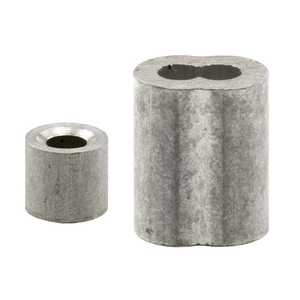 Prime Line Products GD 12151 Aluminum Cable Ferrules And Stops
